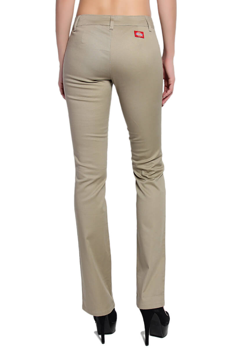 khaki pants girl - Pi Pants