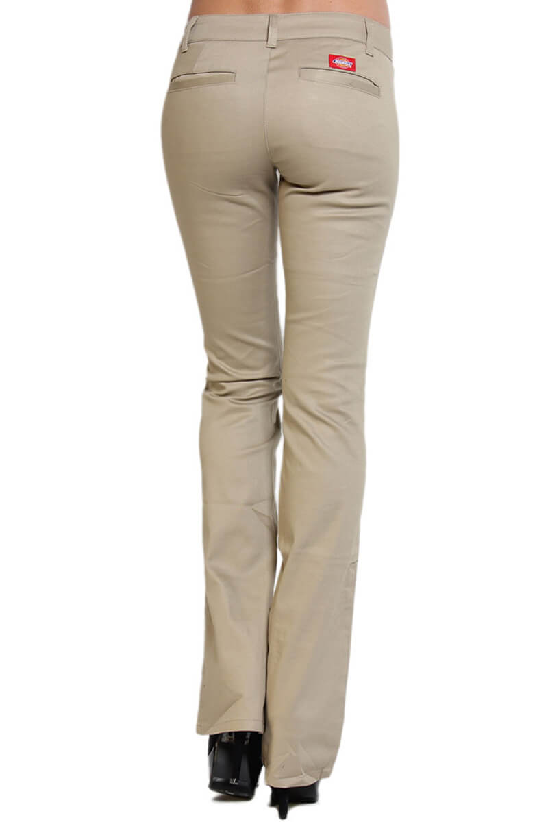 Bootcut Khaki Pants For Women