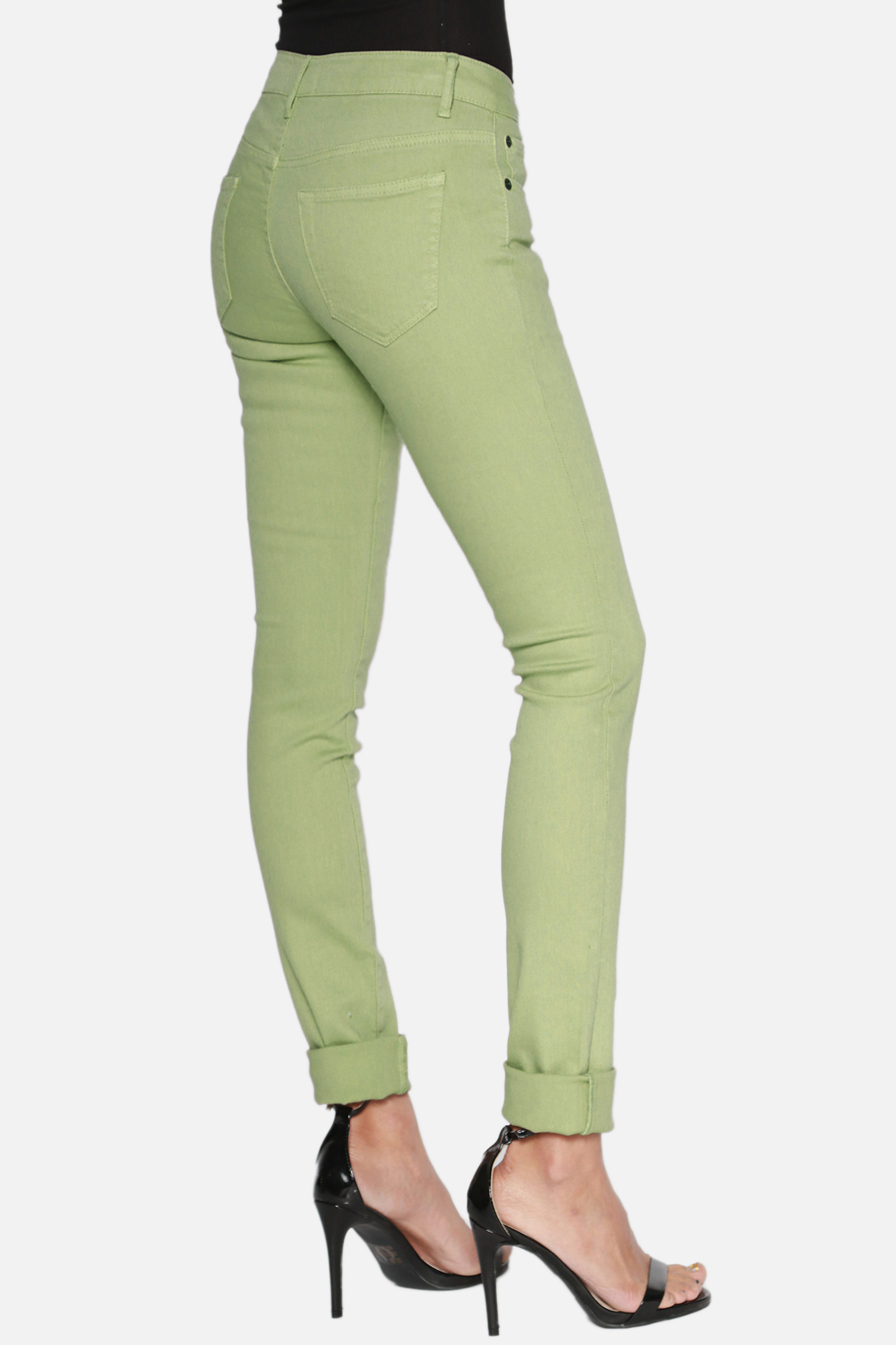 Women S Colored Skinny Jeans