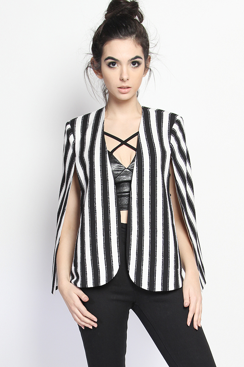 Black and White Striped Blazer Jacket Halloween Beetlejuice Costume. Shop the latest collection of women black and white striped blazer from the most popular. Find great deals on online for Black and White Striped Blazer in Coats and Jackets for the Modern Lady.