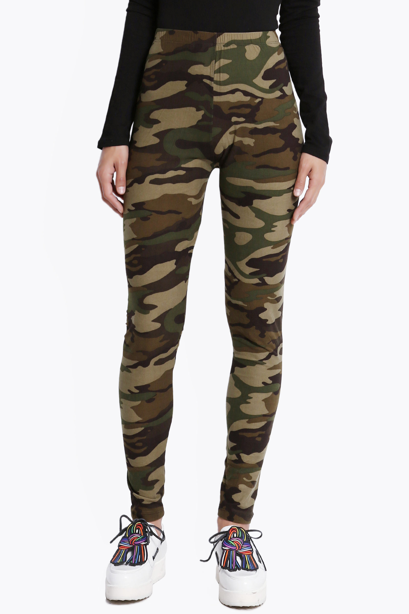 The Classic Camouflage Legging Nevers Goes Out of Style. what ever you want to call them, camouflage leggings, military, army or even combat leggings as they have been referred to at times, these women's leggings are time tested classic look that seem to always be on trend.